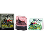 Livro - Harry Potter Hogwarts Castle Snow Globe And Sticker Kit
