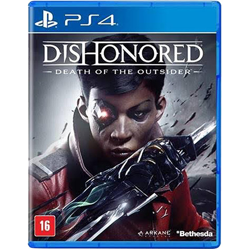 Foto 1 - Game Dishonored Death Of The Outsider - PS4