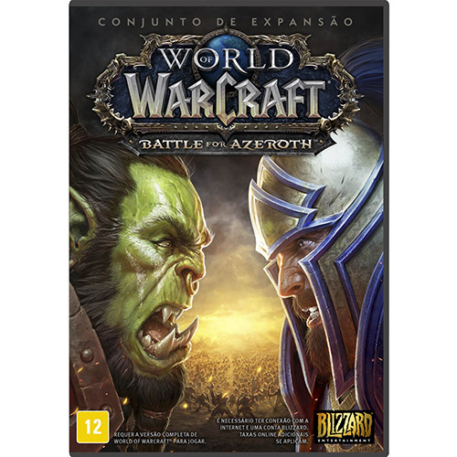 053c9346ddc Game Expansão World Of Warcraft: Battle For Azeroth - Pc