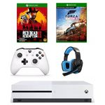 Combo Xbox One S 1TB + Forza Horizon 4 + Red Dead Redemption 2 + Headset 7.1