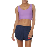 Top Sawary Fitness Cropped Sport