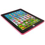 Tablet Interativo Educativo Bilingue Rosa