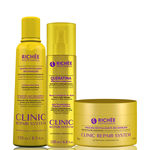 Richée Professional Clinic Repair System Kit Queratina Revitalizante (3 Produtos)