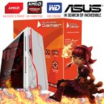 Computador Cpu Pc Gamer A4 6300 Dual Core 3.9 Ghz HDMI 4Gb Ati Radeon HD 8370D Bg-009 Branco
